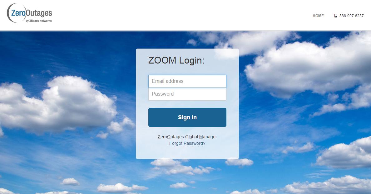 ZeroOutages Global Management System